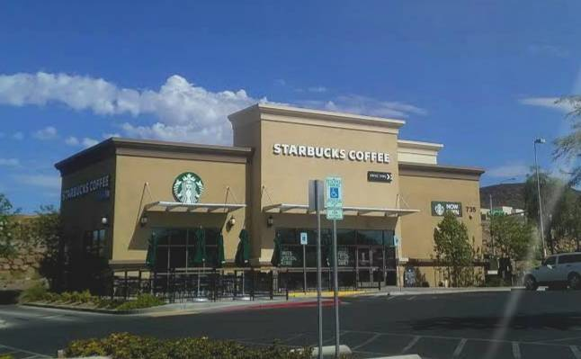 Starbucks - cafe  | Photo 1 of 1 | Address: 735 S Green Valley Pkwy, Henderson, NV 89052, USA | Phone: (702) 757-5611