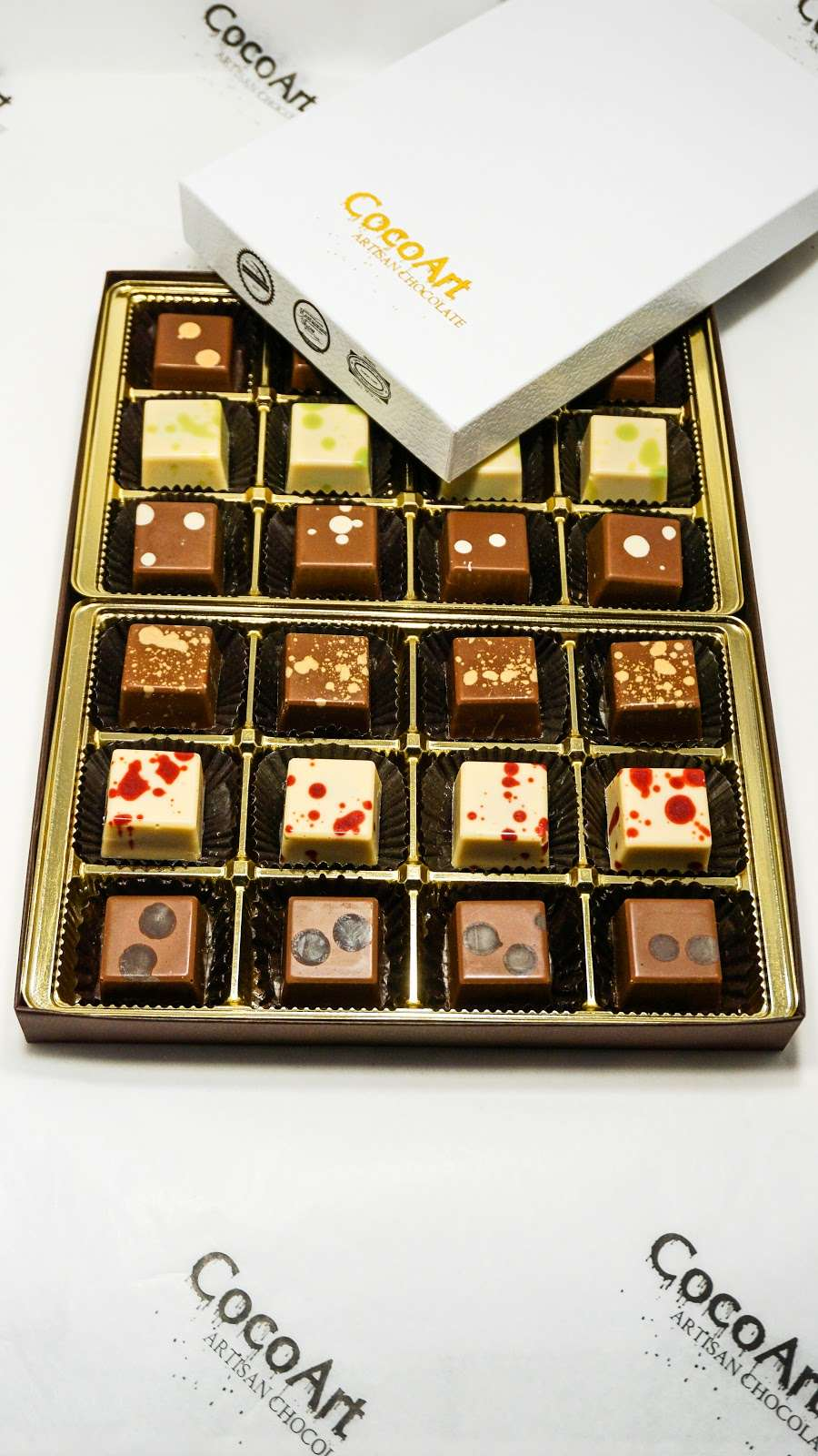 CocoArt Chocolate - store    Photo 5 of 10   Address: 20 Prag Blvd #002, Monroe, NY 10950, USA   Phone: (845) 248-1617