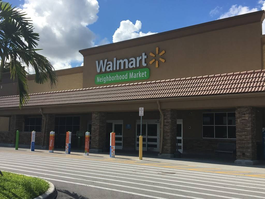 Walmart Neighborhood Market - supermarket  | Photo 7 of 8 | Address: 8550 Stirling Rd, Hollywood, FL 33024, USA | Phone: (954) 628-1772
