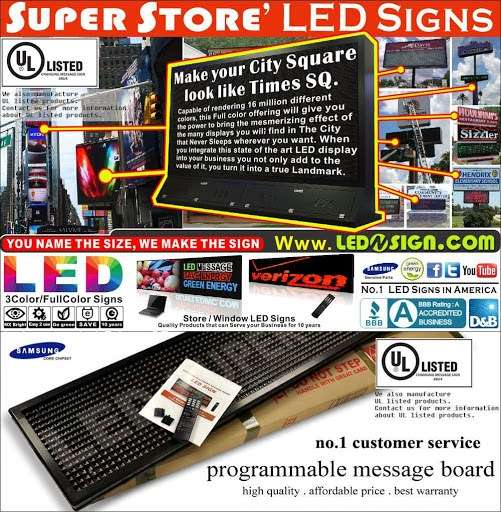 LEDnSIGN.com - store  | Photo 4 of 6 | Address: 13-10 111th St, College Point, NY 11356, USA | Phone: (718) 746-0822
