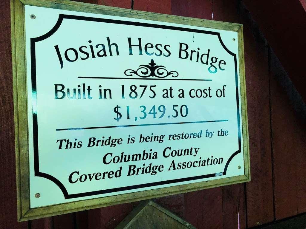 Josiah Hess Covered Bridge - museum  | Photo 3 of 10 | Address: Winding Rd, Orangeville, PA 17859, USA