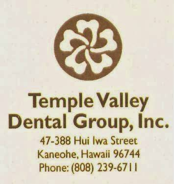 Temple Valley Dental Group Inc - dentist  | Photo 1 of 1 | Address: 47-388 Hui Iwa St, Kaneohe, HI 96744, USA | Phone: (808) 239-6711