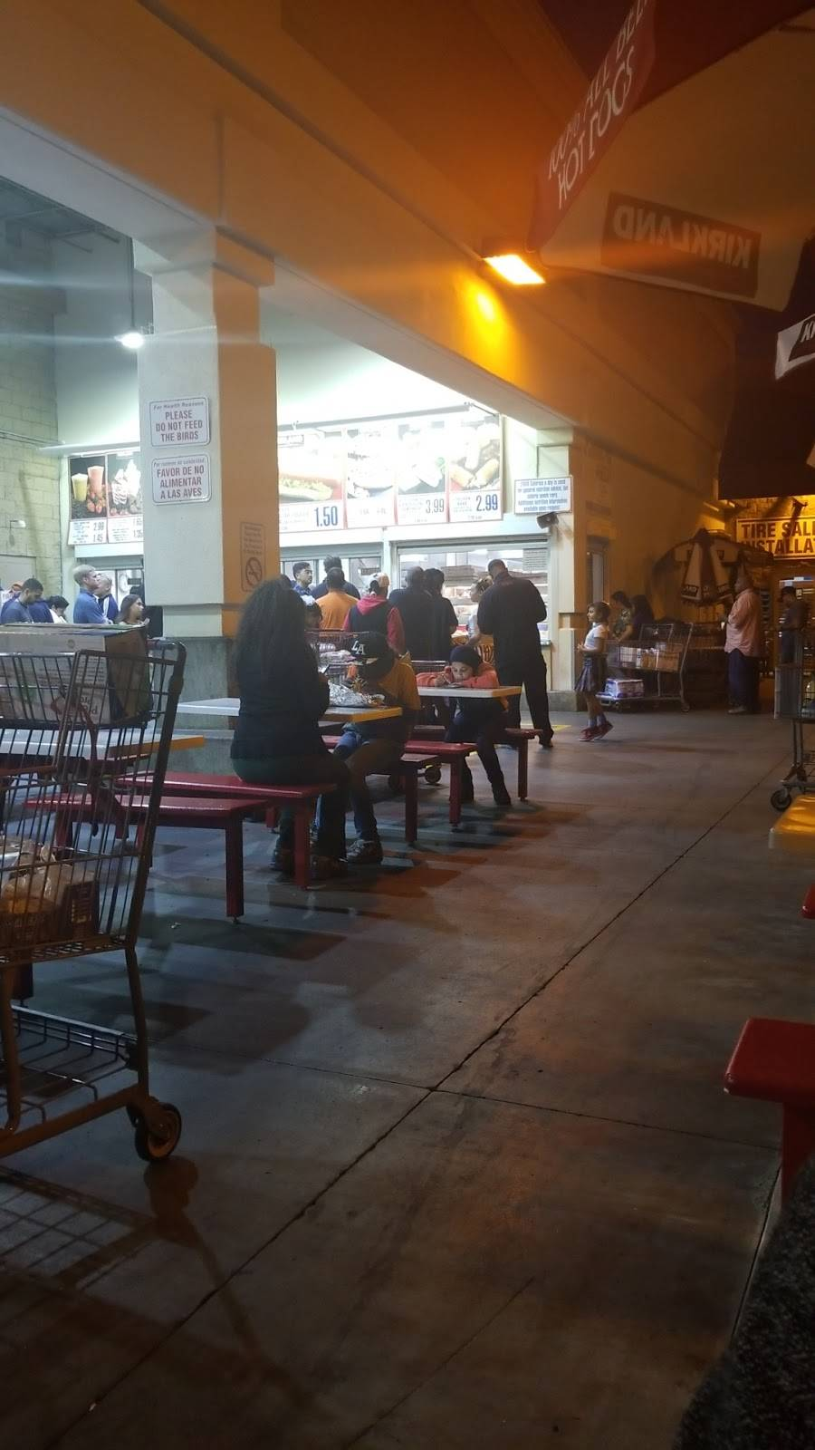 Costco Food Court - meal takeaway  | Photo 8 of 8 | Address: 650 Gateway Center Dr, San Diego, CA 92102, USA | Phone: (619) 358-2321