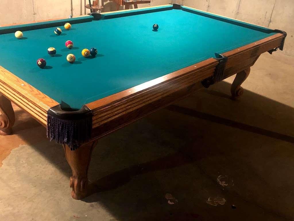 Cloud 9 Pool Table Service - store  | Photo 8 of 10 | Address: 236 John Mowry Rd, Smithfield, RI 02917, USA | Phone: (401) 603-8092
