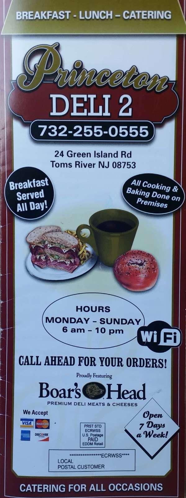 Princeton Deli 2 - convenience store  | Photo 2 of 5 | Address: 24 Green Island Rd, Toms River, NJ 08753, USA | Phone: (732) 255-0555