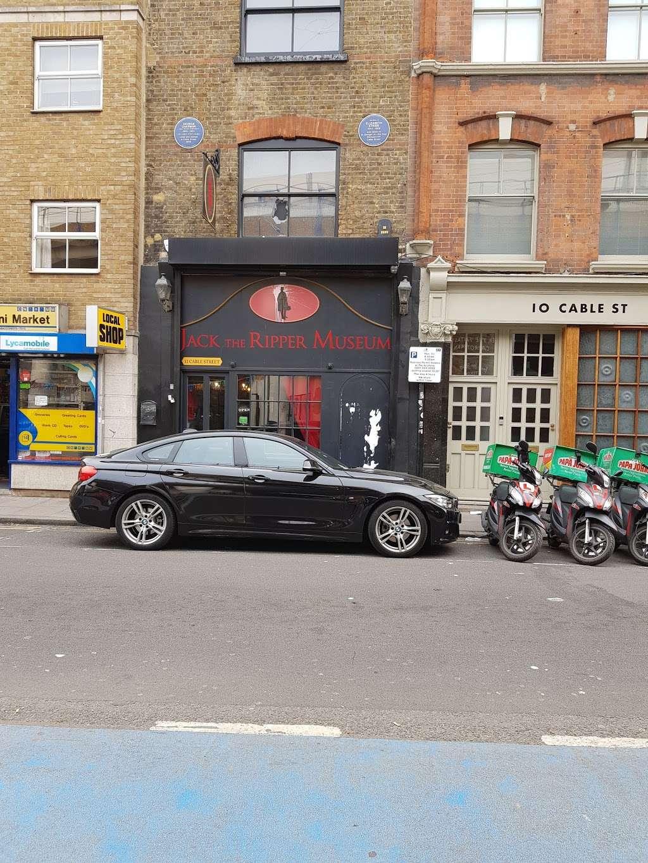 Jack The Ripper Museum - museum    Photo 4 of 10   Address: 12 Cable St, Whitechapel, London E1 8JG, UK   Phone: 020 7488 9811
