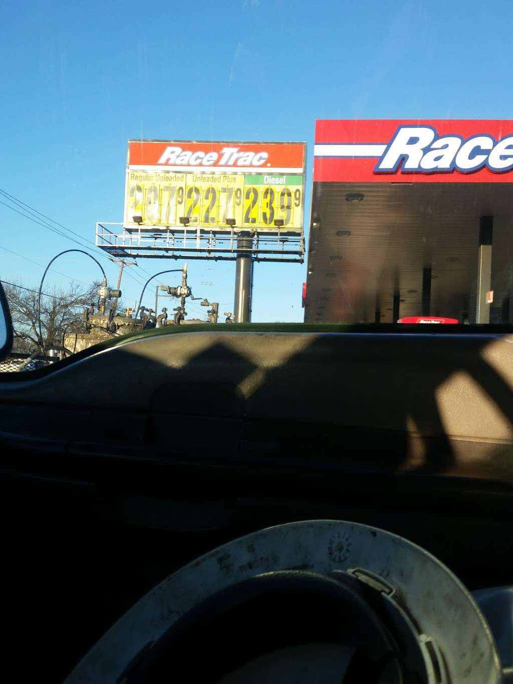 RaceTrac - gas station  | Photo 10 of 10 | Address: 10707 Miller Rd, Dallas, TX 75238, USA | Phone: (214) 221-7929