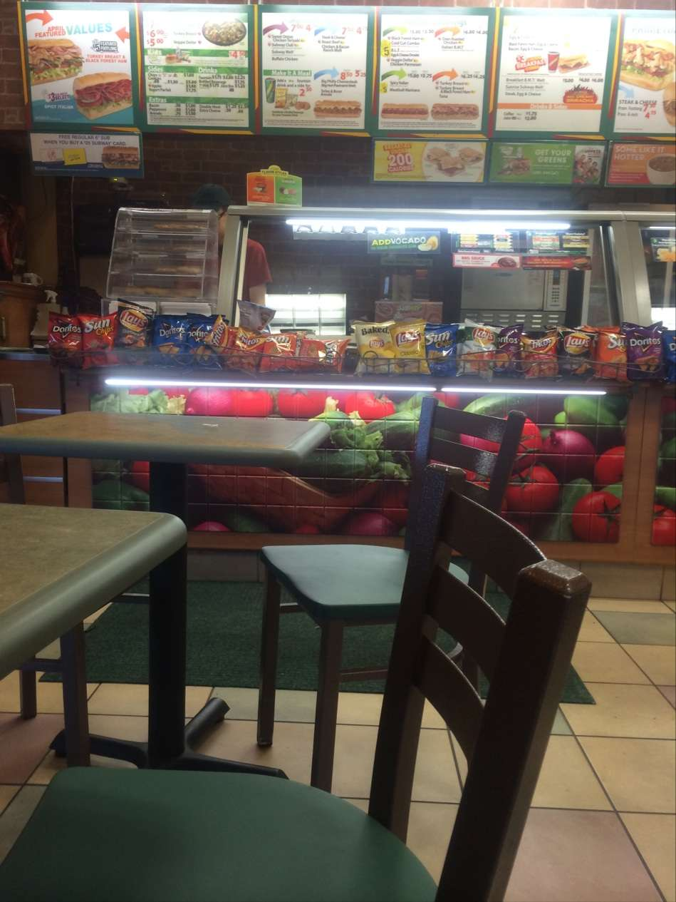 Subway Restaurants - restaurant  | Photo 2 of 3 | Address: 9252 John Fitzgerald Kennedy Blvd, North Bergen, NJ 07047, USA