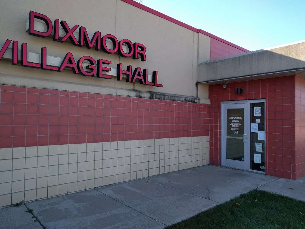 Dixmoor Village Hall - city hall    Photo 1 of 1   Address: 170 W 145th St, Dixmoor, IL 60426, USA   Phone: (708) 389-6121