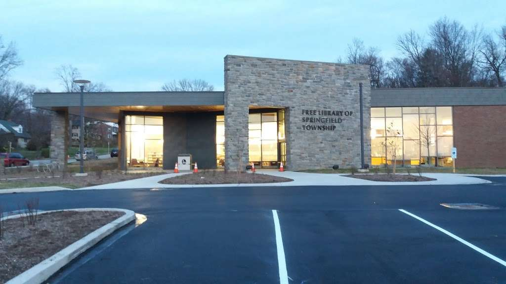 Free Library of Springfield Township | 8900 Hawthorne Ln