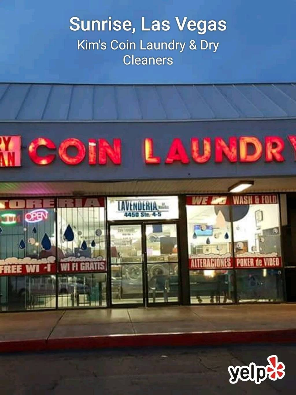 Kims Coin Laundry & Dry Cleaners - laundry  | Photo 10 of 10 | Address: 4450 E Charleston Blvd # 4, Las Vegas, NV 89104, USA | Phone: (702) 489-4417
