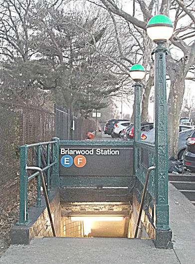 Briarwood - Van Wyck Blvd - subway station    Photo 6 of 10   Address: &, Queens Blvd & Main St, Briarwood, NY 11435, USA