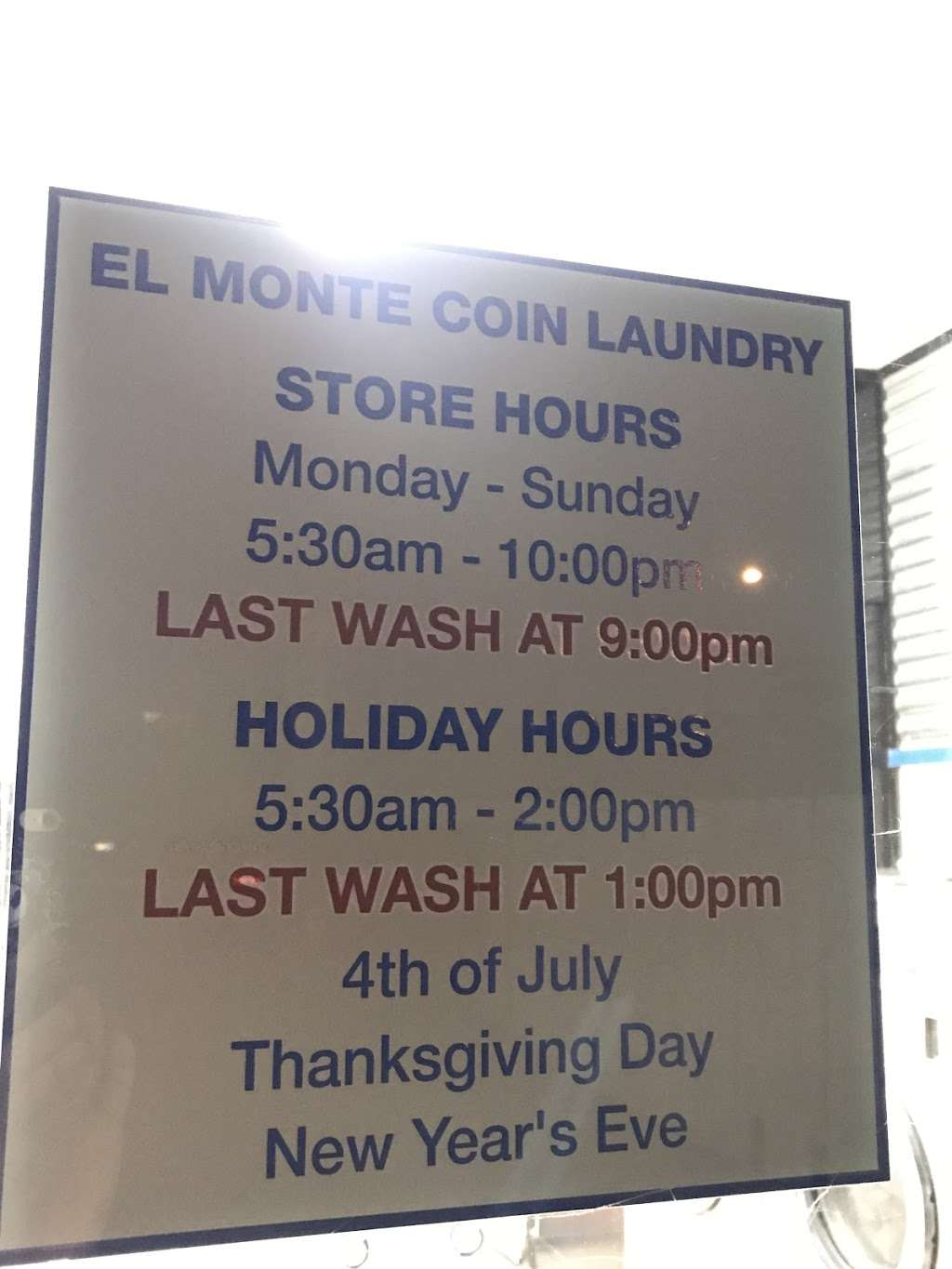 Coin-OP Laundry - laundry  | Photo 5 of 5 | Address: 10330 Lower Azusa Rd, El Monte, CA 91731, USA
