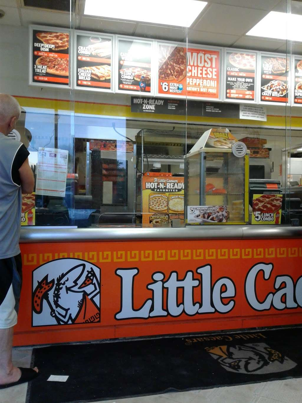 Little Caesars Pizza - meal takeaway  | Photo 2 of 10 | Address: 4477 E 10th St, Indianapolis, IN 46201, USA | Phone: (317) 644-3964