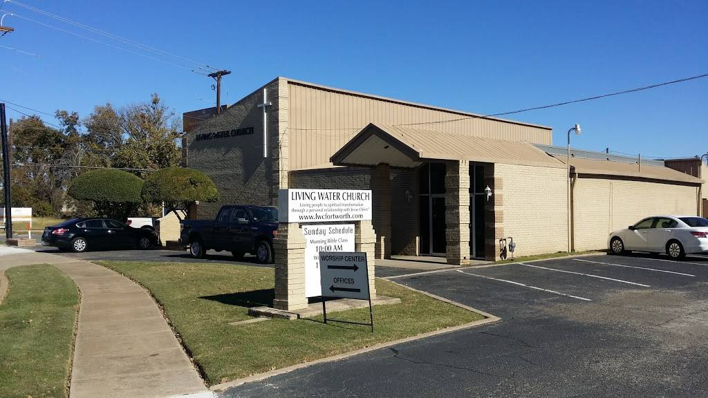Living Water Church - church  | Photo 1 of 5 | Address: 109 S Roberts Cut Off Rd, Fort Worth, TX 76114, USA | Phone: (817) 738-9917