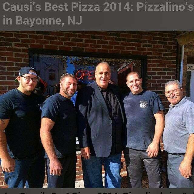 Pizzalinos - restaurant    Photo 1 of 10   Address: 721 Avenue A, Bayonne, NJ 07002, USA   Phone: (201) 455-3032