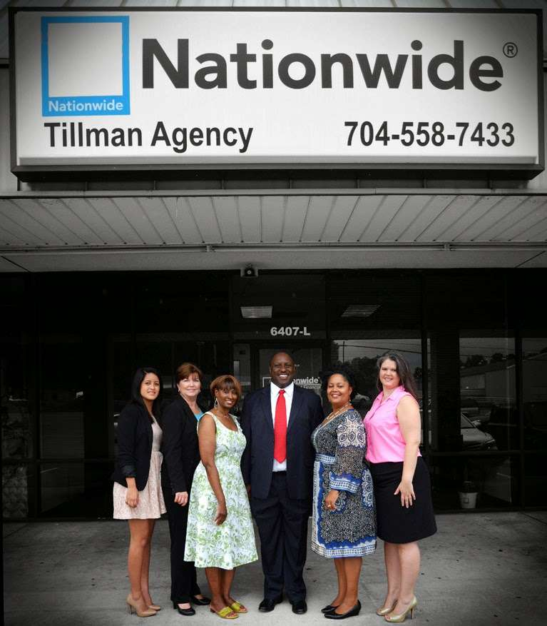 The Tillman Agency - Nationwide Insurance - insurance agency  | Photo 1 of 3 | Address: 6407 South Blvd Suite L, Charlotte, NC 28217, USA | Phone: (704) 558-7433