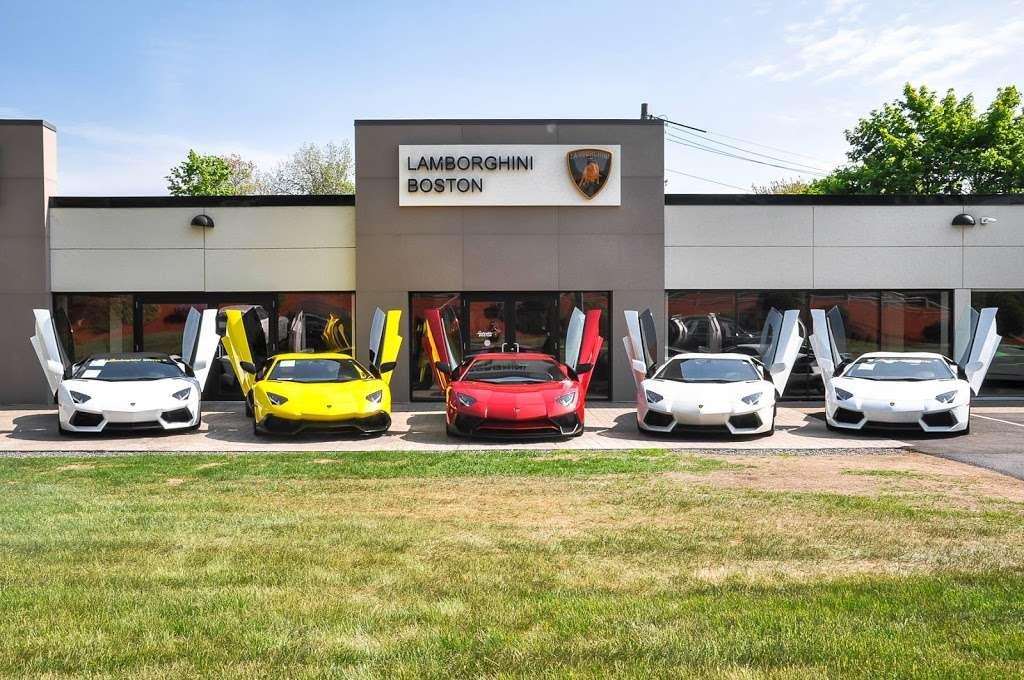 Lamborghini Boston - car dealer  | Photo 2 of 10 | Address: 531 Boston Post Rd Rte. 20, Wayland, MA 01778, USA | Phone: (508) 401-2800