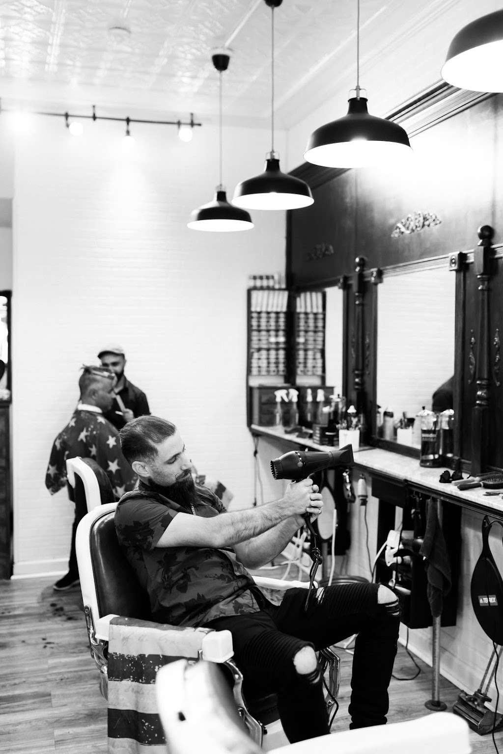 Classic Man Cut & Shave (Soho) - hair care  | Photo 4 of 10 | Address: 64 Macdougal St, New York, NY 10012, USA | Phone: (646) 850-1888