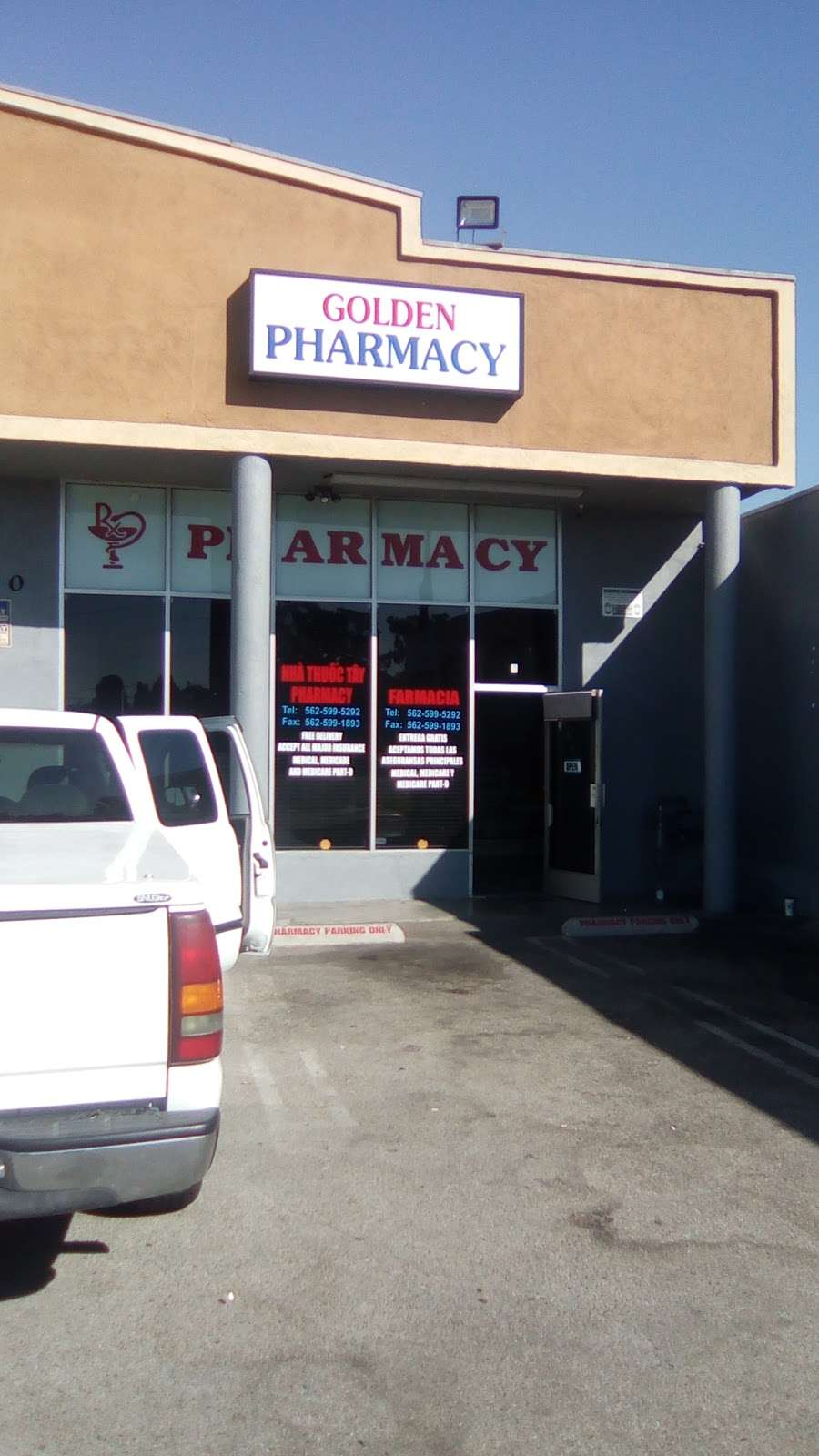 Golden Pharmacy - pharmacy    Photo 2 of 2   Address: 1750 Pacific Avenue, Long Beach, CA 90813, USA   Phone: (562) 599-5292