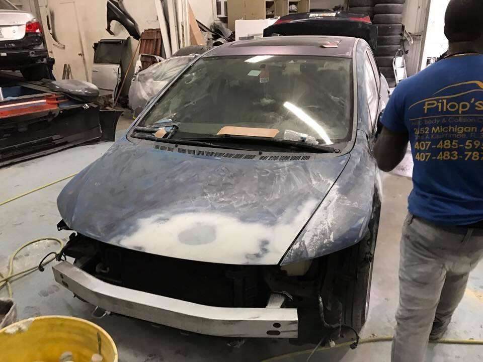 Pilops Auto Body & Collision Center - car repair  | Photo 2 of 10 | Address: 1010 American Way, Kissimmee, FL 34741, USA | Phone: (407) 483-7870