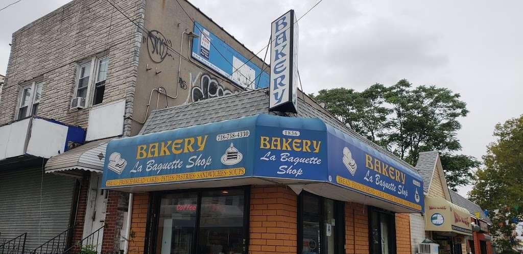 La Baguette Shop - bakery  | Photo 1 of 10 | Address: 1836 Rockaway Pkwy, Brooklyn, NY 11236, USA | Phone: (718) 758-4330