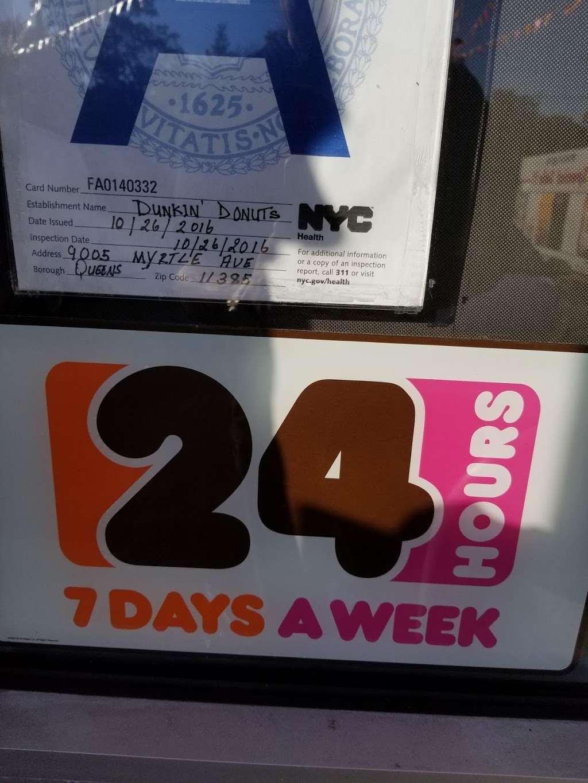 Dunkin - bakery  | Photo 10 of 10 | Address: 9005 Myrtle Ave, Glendale, NY 11385, USA | Phone: (718) 849-0563