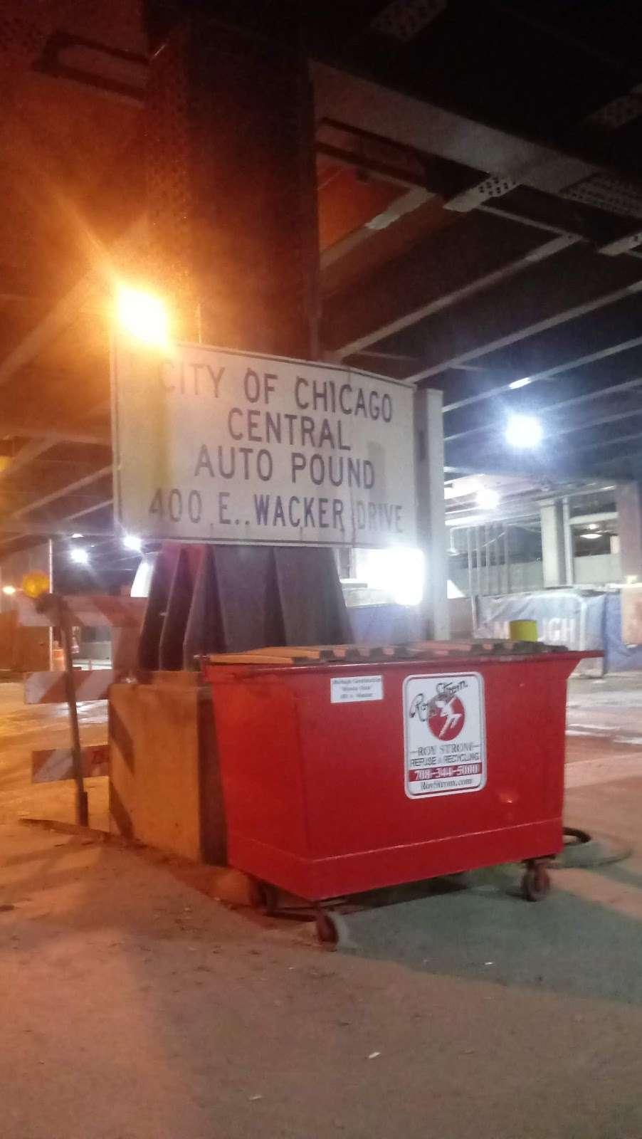 City of Chicago Central Auto Pound - storage  | Photo 8 of 10 | Address: 400 E Lower Wacker Dr, Chicago, IL 60601, USA | Phone: (312) 744-7550