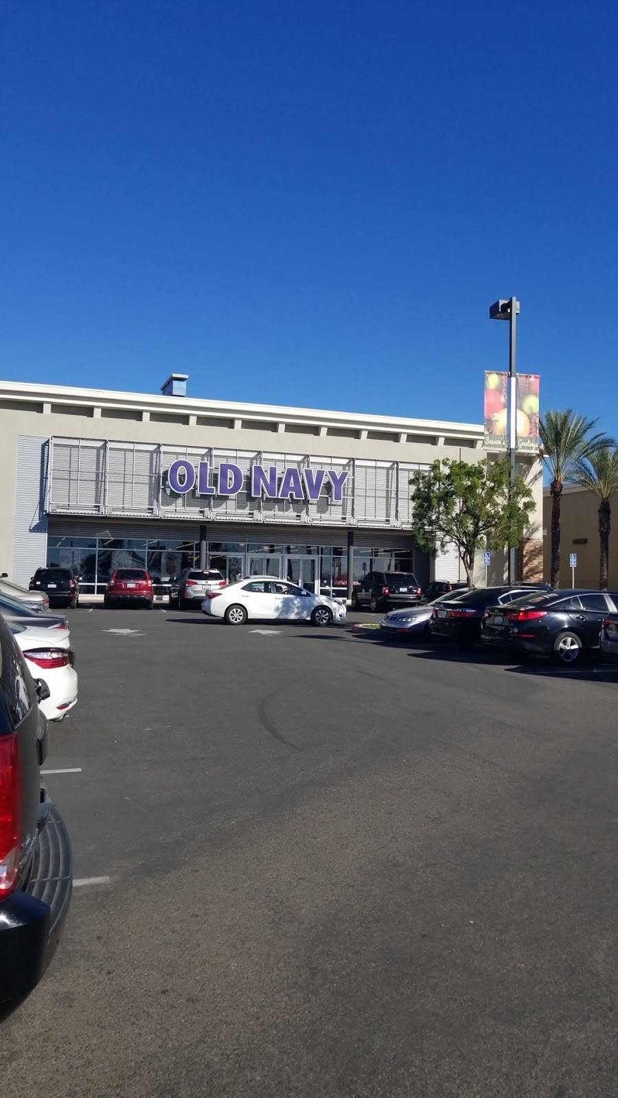 Old Navy - with Curbside Pickup - clothing store    Photo 1 of 10   Address: 2650 Canyon Springs Pkwy, Riverside, CA 92507, USA   Phone: (951) 653-5406
