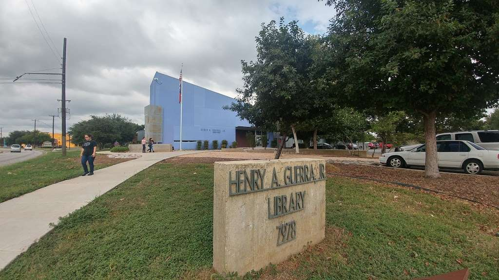 Henry Guerra Library - library  | Photo 1 of 9 | Address: 7978 W Military Dr, San Antonio, TX 78227, USA | Phone: (210) 207-9070