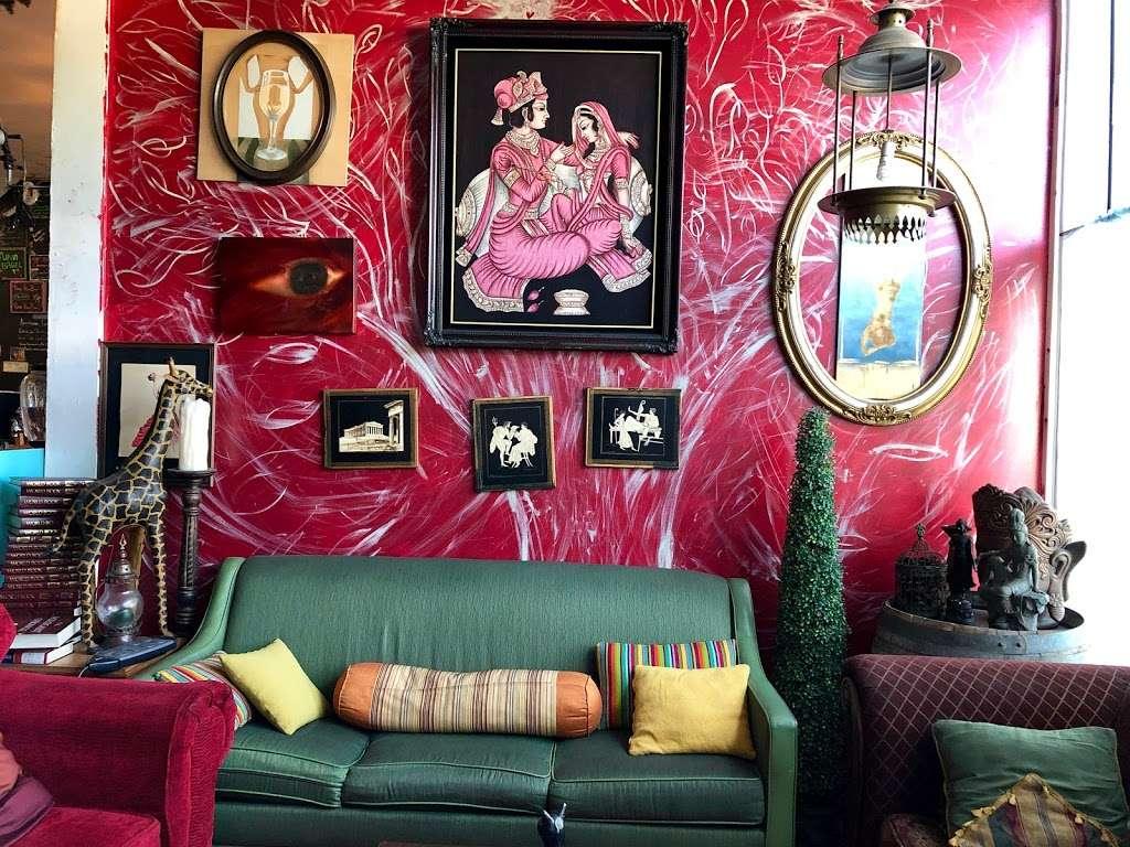 Blu Elefant Cafe - cafe    Photo 3 of 10   Address: 2024 W Washington Blvd, Los Angeles, CA 90018, USA   Phone: (323) 641-0466