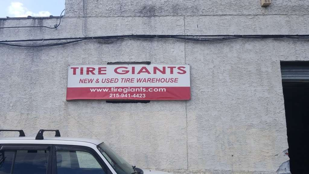 Tire Giants - car repair    Photo 10 of 10   Address: 8301 Torresdale Ave, Philadelphia, PA 19136, USA   Phone: (215) 941-4423