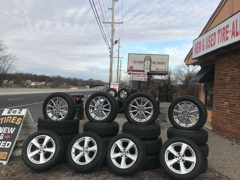 Americas tires shop - car repair  | Photo 7 of 10 | Address: 62 NJ-35, Keyport, NJ 07735, USA | Phone: (732) 497-0590