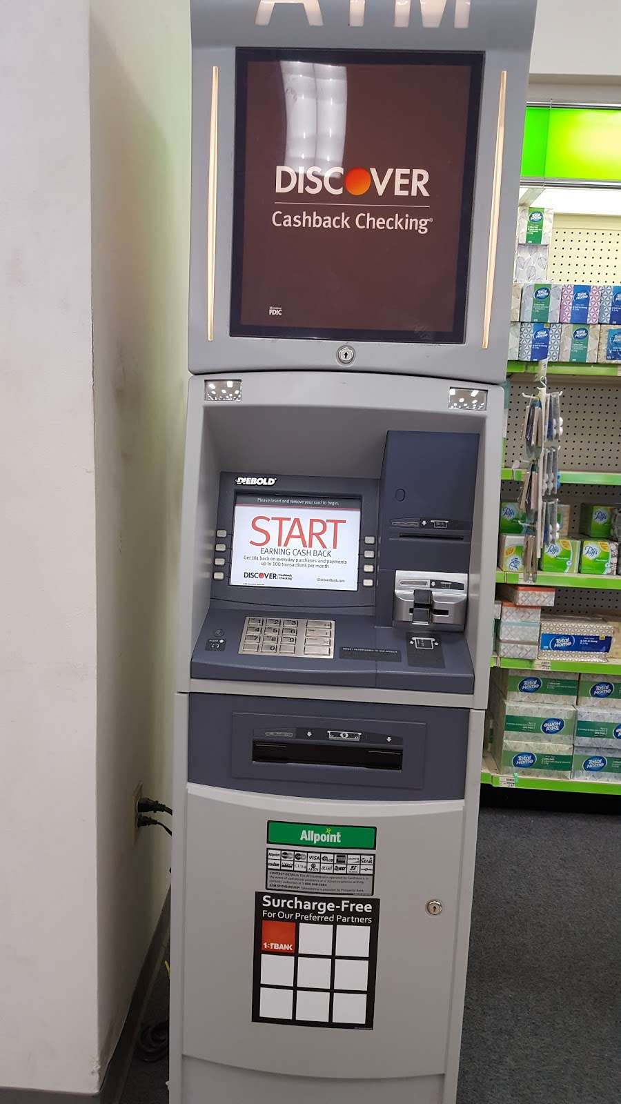 Discover ATM / 14st Bank of Colorado, 146145 E Baseline Rd, Phoenix