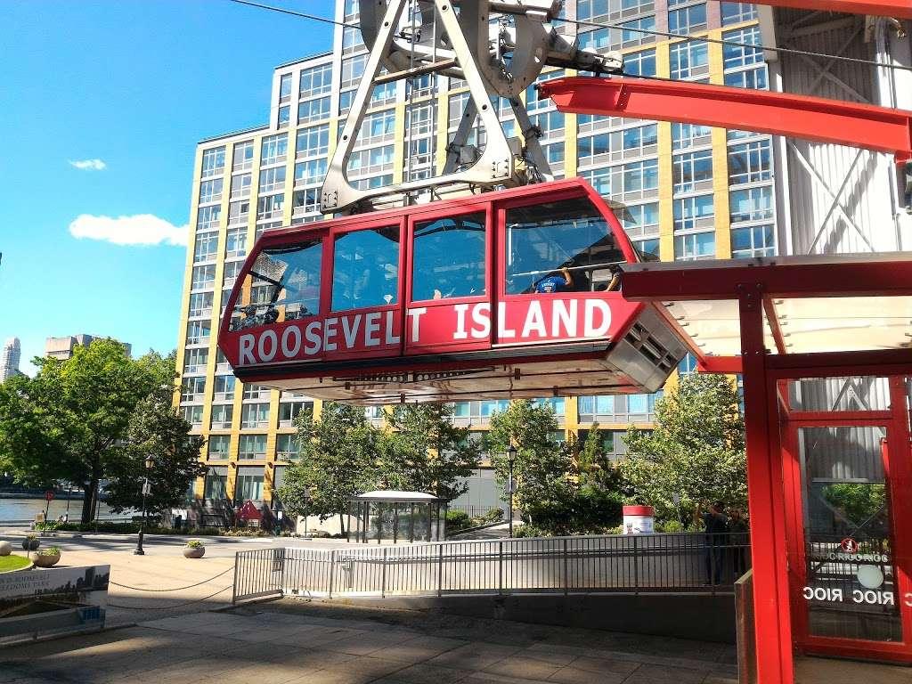 Roosevelt Island Tram Station - transit station  | Photo 2 of 10 | Address: Main St, Roosevelt Island, NY 10044, USA