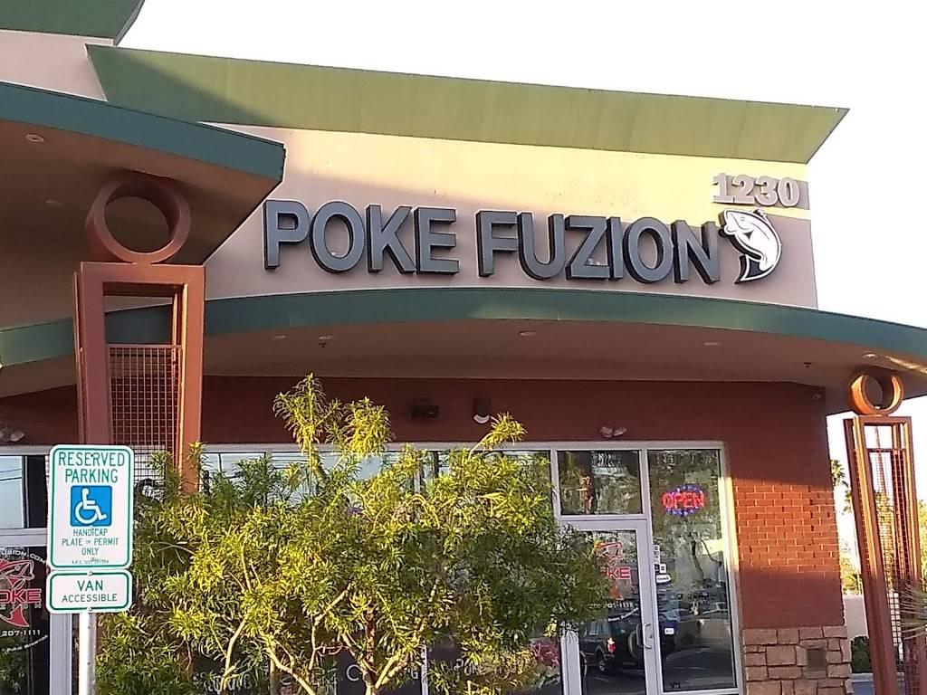 Poke Fuzion - cafe    Photo 2 of 10   Address: 1230 E Baseline Rd #101, Mesa, AZ 85204, USA   Phone: (480) 207-1111