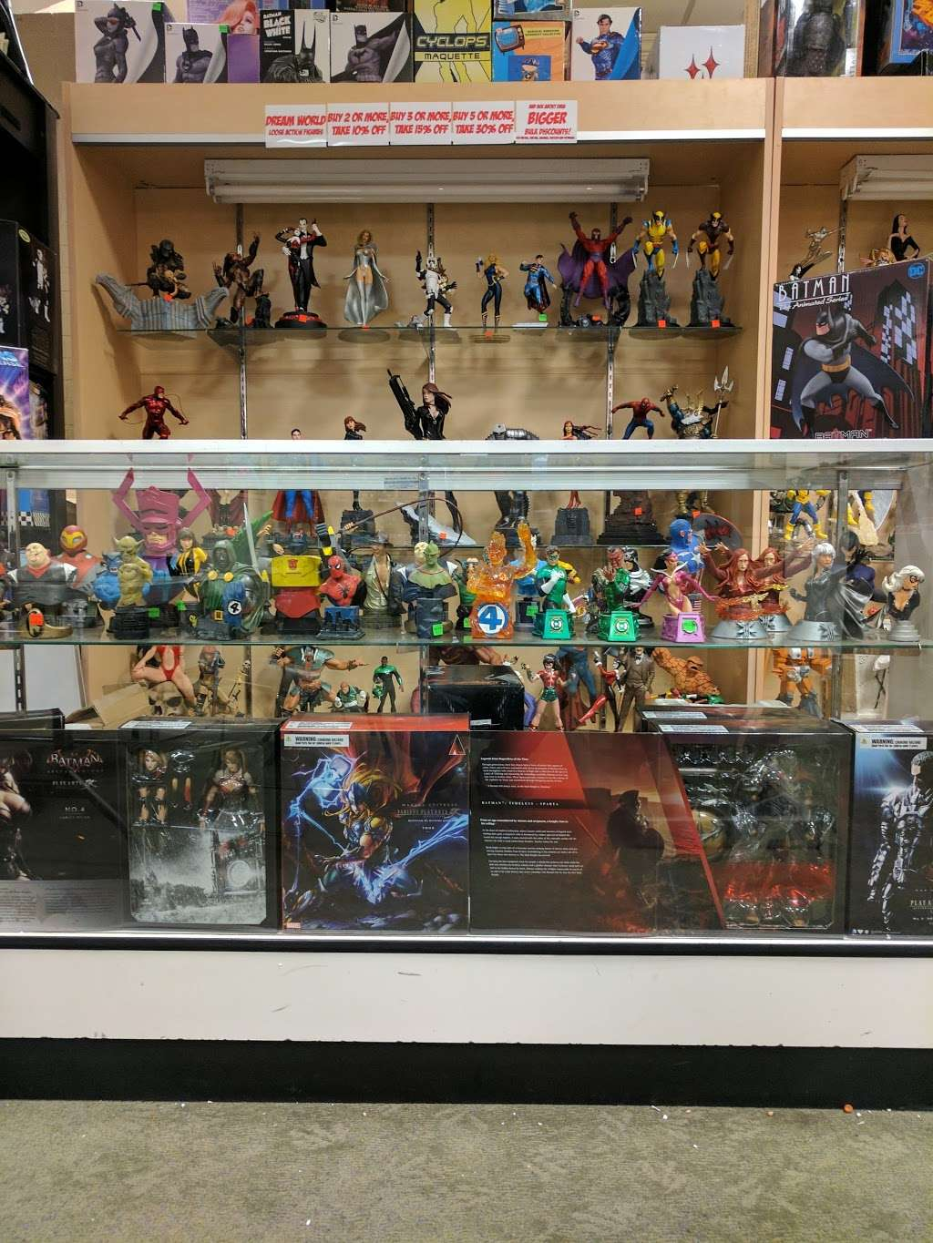 Dream World Collectibles - art gallery    Photo 9 of 10   Address: 1555 Simi Town Center Way #165, Simi Valley, CA 93065, USA   Phone: (805) 581-0409