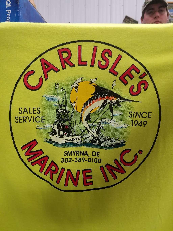 Carlisles Marine Inc - store    Photo 6 of 7   Address: 49 Artisan Dr, Smyrna, DE 19977, USA   Phone: (302) 389-0100