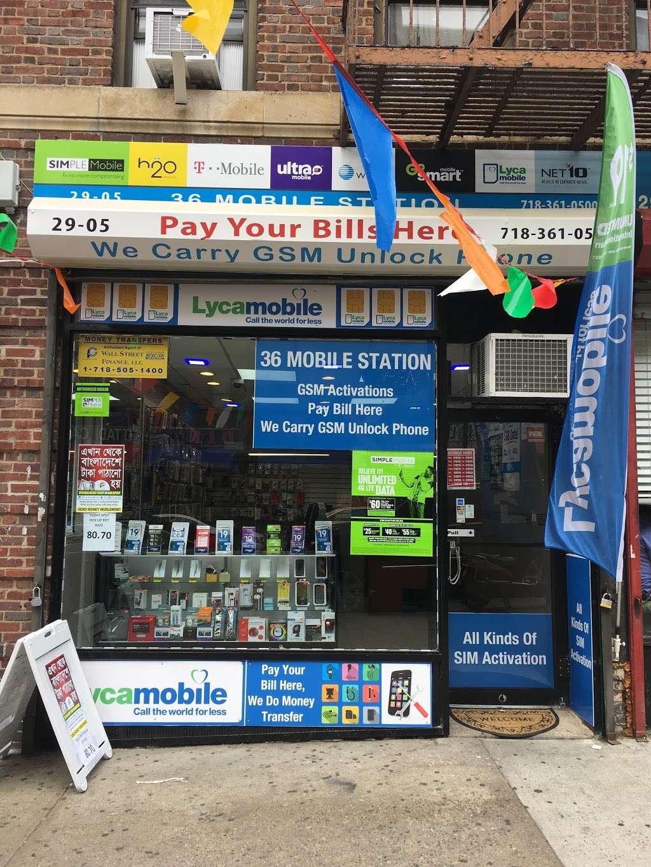 36 Mobile Station - store  | Photo 2 of 10 | Address: 2905 36th Ave, Long Island City, NY 11106, USA | Phone: (718) 361-0500