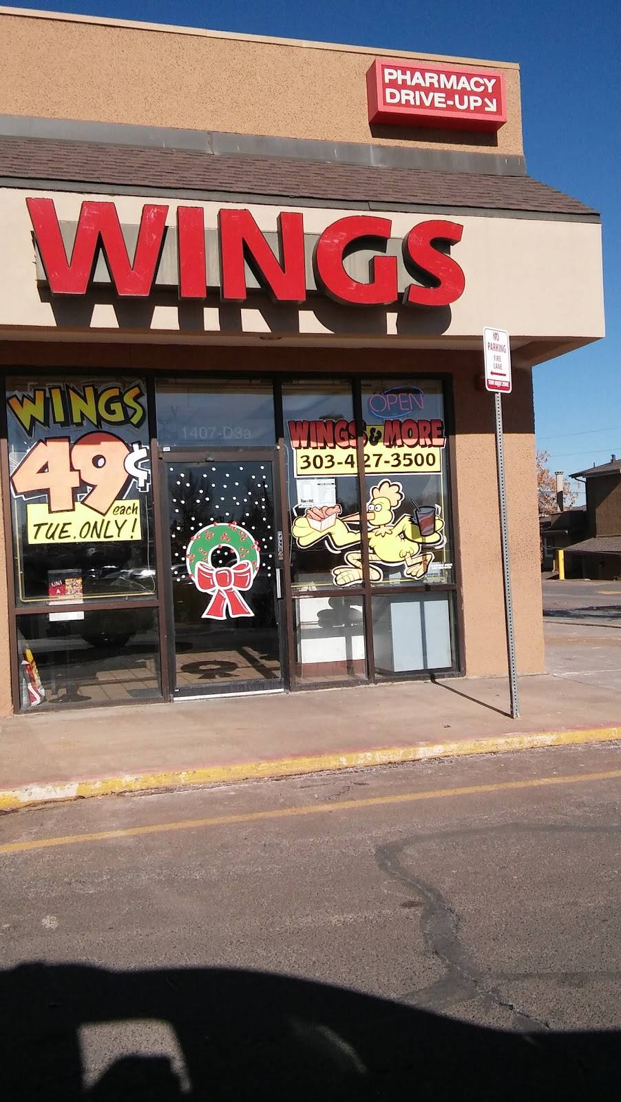 Wings & More - restaurant  | Photo 5 of 10 | Address: 1407 W 84th Ave, Denver, CO 80260, USA | Phone: (303) 427-3500