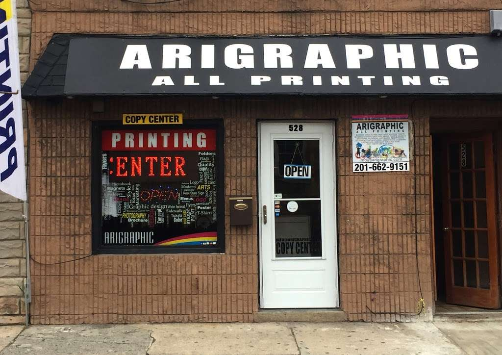 Arigraphic all Printing - store  | Photo 3 of 10 | Address: 528 70th St, Guttenberg, NJ 07093, USA | Phone: (201) 662-9151