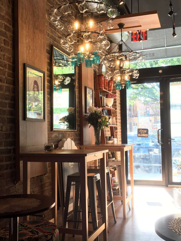 Blue Cups - cafe  | Photo 1 of 10 | Address: 38-4 61st St, Woodside, NY 11377, USA | Phone: (917) 832-6940