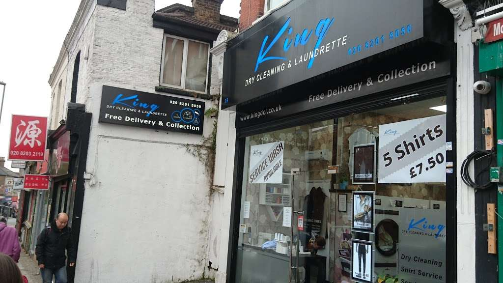 King Dry Cleaning & Laundrette - laundry  | Photo 4 of 10 | Address: 35 Church Rd, London NW4 4EB, UK | Phone: 020 8201 5050