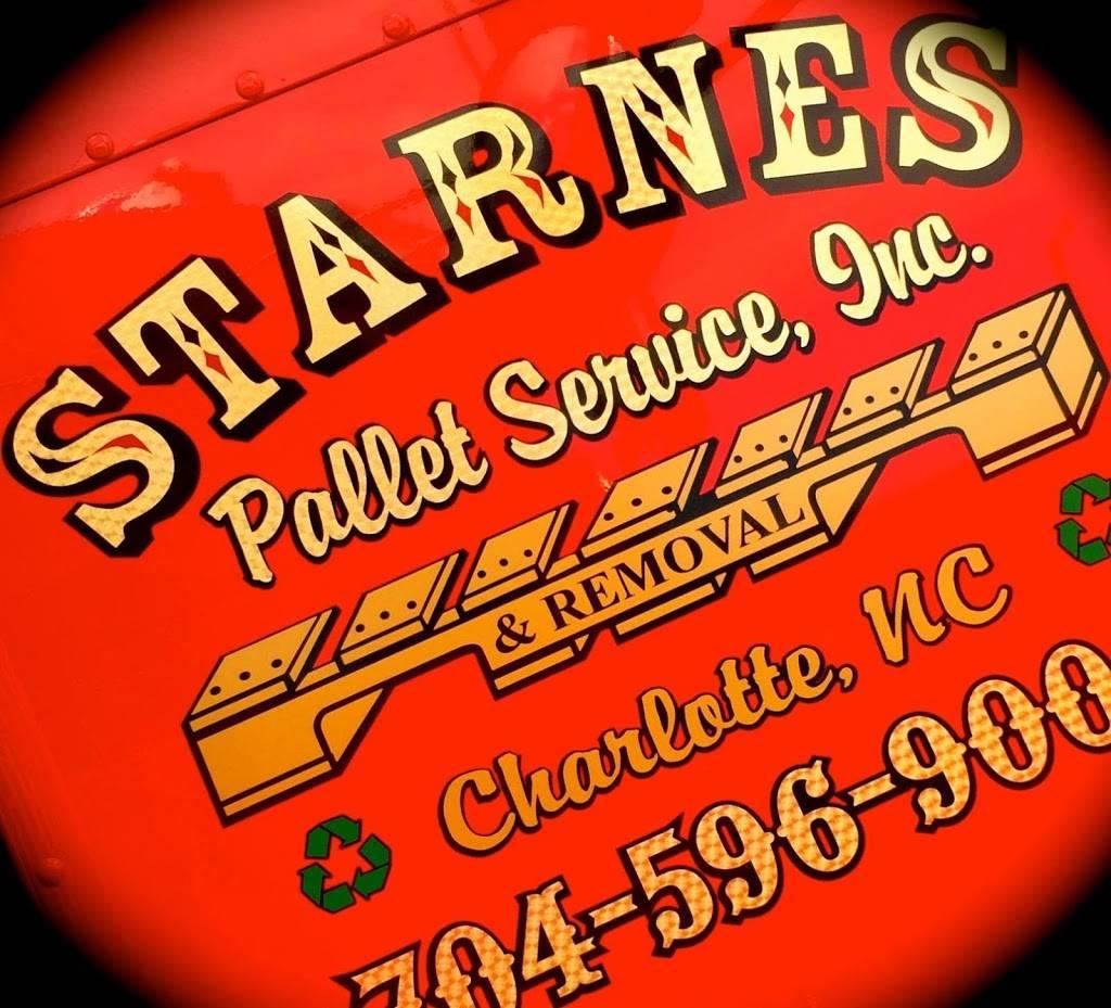 Starnes Pallet Service - store  | Photo 6 of 8 | Address: 4000 Jeff Adams Dr, Charlotte, NC 28206, USA | Phone: (704) 596-9006