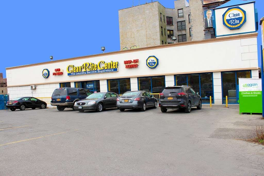 Clean Rite Center 24 HOURS - laundry  | Photo 2 of 10 | Address: 1240 E Tremont Ave, Bronx, NY 10460, USA | Phone: (718) 931-5991