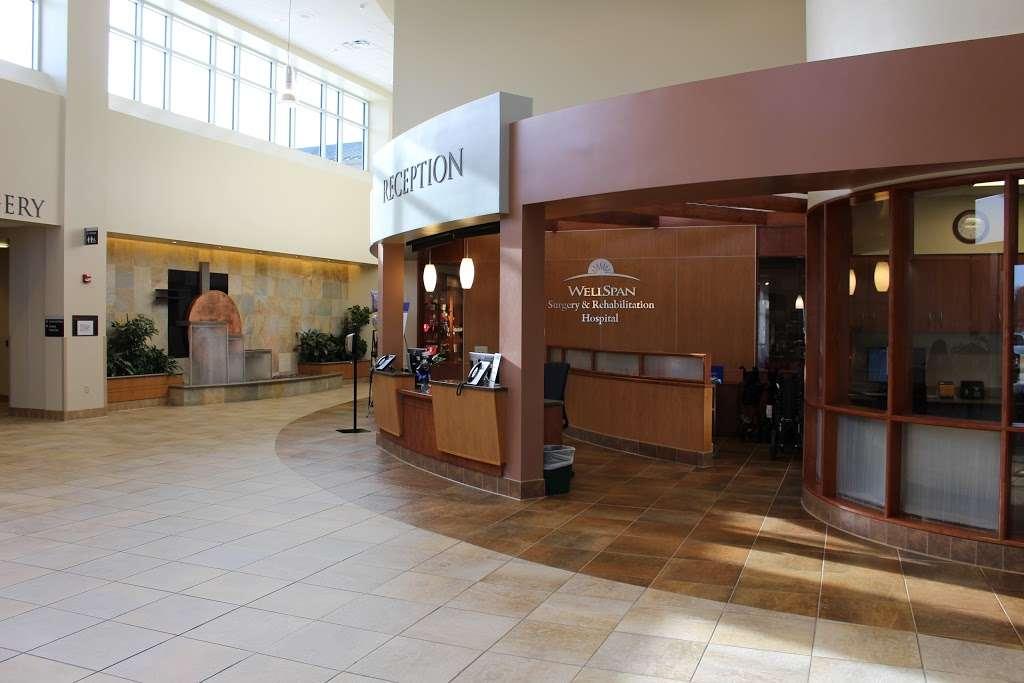 WellSpan Surgery & Rehabilitation Hospital - hospital    Photo 2 of 10   Address: 55 Monument Rd, York, PA 17403, USA   Phone: (717) 812-6100