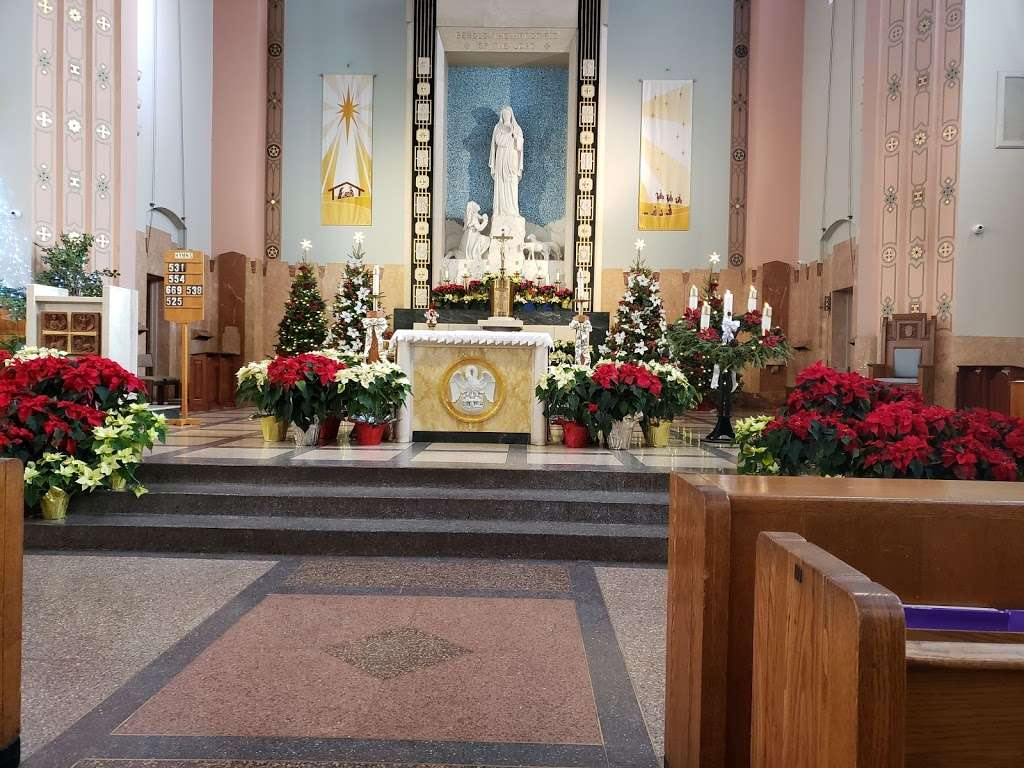 Our Lady of Lourdes Church - church  | Photo 1 of 10 | Address: 9296 220th St, Queens Village, NY 11428, USA | Phone: (718) 479-5111