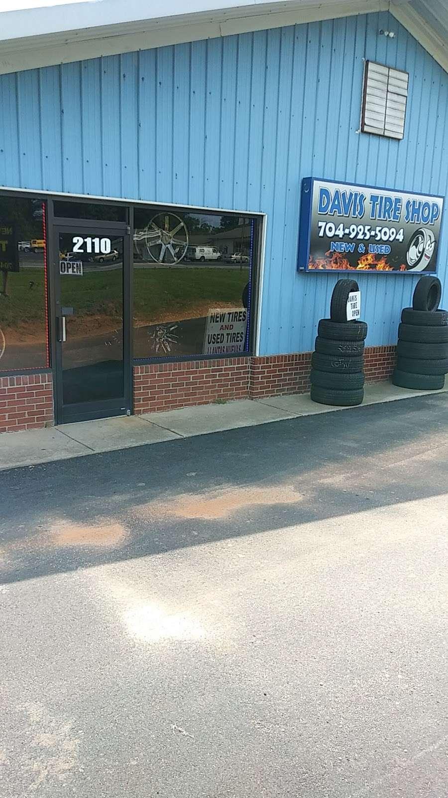 Davis Tire Shop 304 E 22nd St Kannapolis Nc 28083 Usa