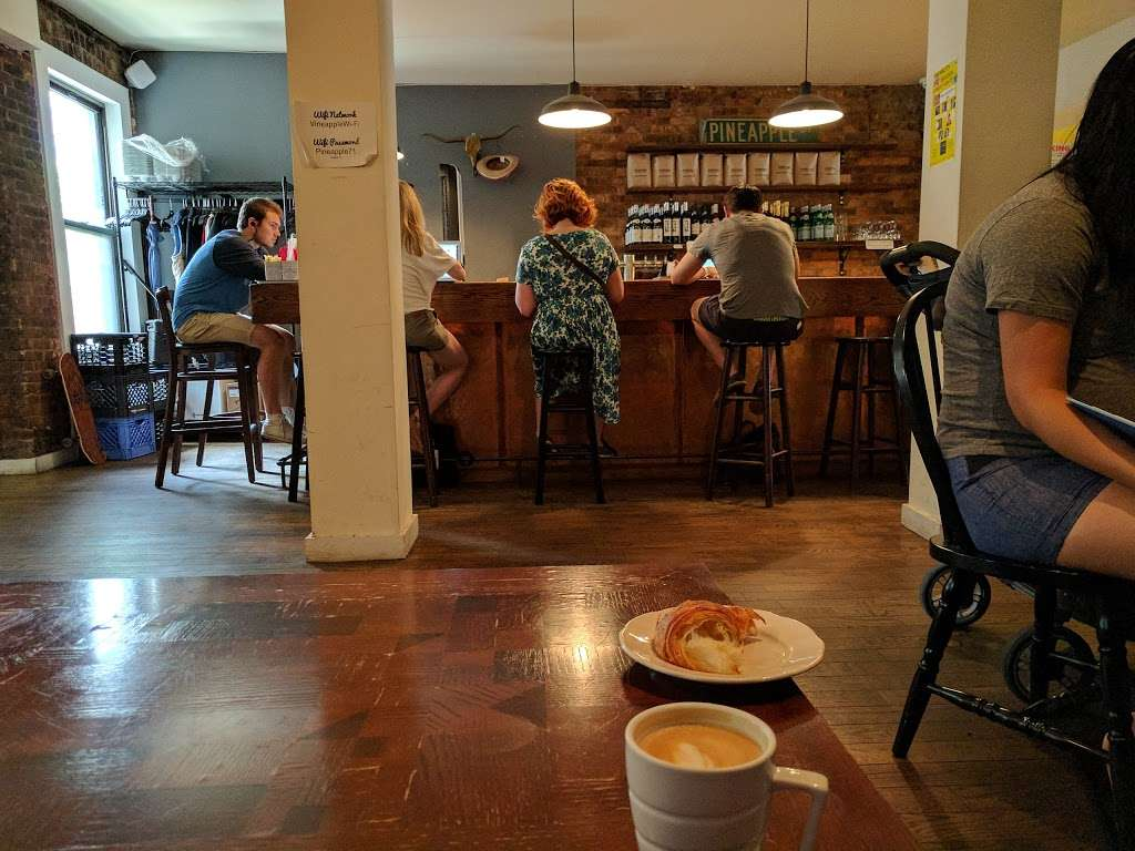 Vineapple Cafe - cafe  | Photo 1 of 10 | Address: 71 Pineapple St, Brooklyn, NY 11201, USA | Phone: (347) 799-1701