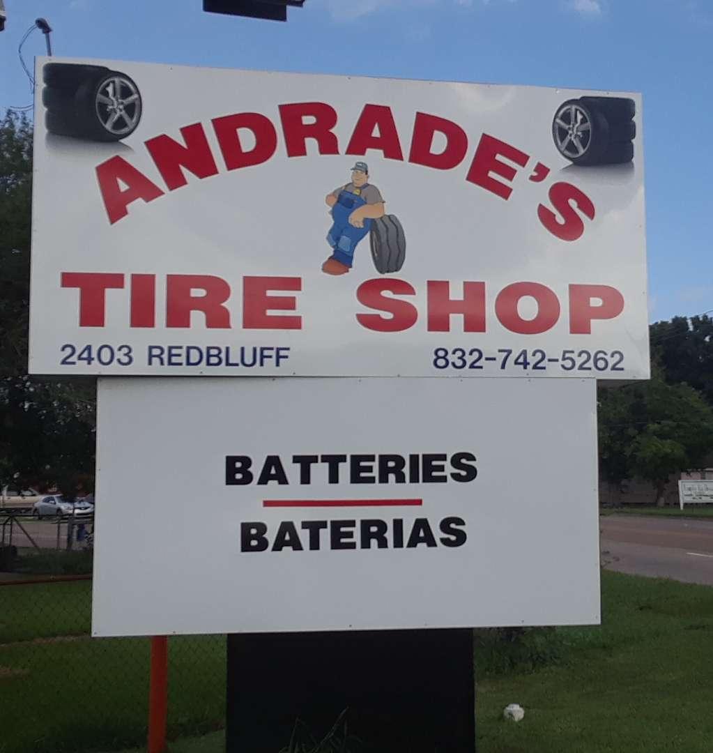 Andrades Tire Shop - car repair  | Photo 1 of 4 | Address: 2403 Red Bluff Rd, Pasadena, TX 77506, USA | Phone: (832) 742-5262